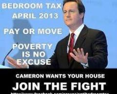 Prime Minister enforces bedroom tax despite opposition